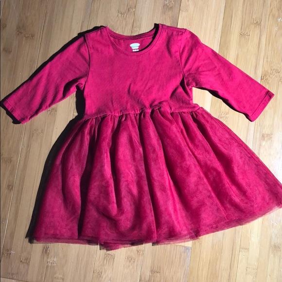 d1d446156fa40 Old Navy Dresses | Scoopneck Tutu Dress Red 1824m | Poshmark